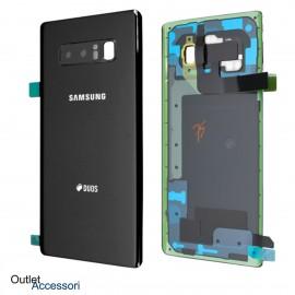 Copribatteria Samsung Note 8 NERO NERA