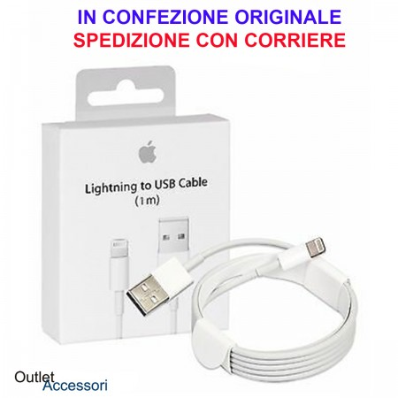 Cavo USB Lightning APPLE ORIGINALE 100cm MD818ZM/A