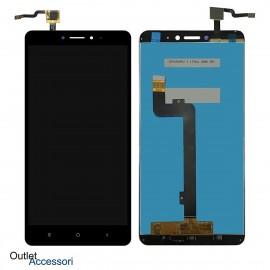 Schermo Display Xiaomi MI MAX 2 MDE40 LCD Touch Vetro Originale NERO