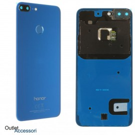 Copribatteria Scocca Vetro Posteriore Originale Huawei HONOR 9 LITE BLU BLUE Tasto Impronte Back Cover 02351SYQ