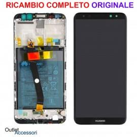 Display Schermo LCD Originale Huawei MATE 10 LITE Nero Batteria Scocca Touch 02351QCY