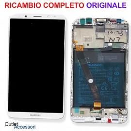 Display Schermo LCD Originale Huawei MATE 10 LITE BIANCO Batteria Scocca Touch 02351QXU