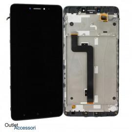 Schermo Display Xiaomi MI MAX 2 MDE40 LCD Touch TELAIO Vetro Originale NERO