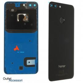Copribatteria Scocca Vetro Posteriore Originale Huawei HONOR 9 LITE NERO Tasto Impronte Back Cover 02351SYP