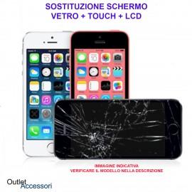 Sostituzione Display Rotto per Apple Iphone 8 Riparazione Cambio Schermo Lcd Vetro Touch Touchscreen