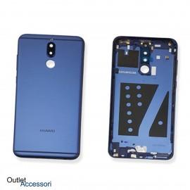 Copribatteria Scocca Telaio Posteriore Huawei MATE 10 LITE BLU Cornice Back COVER