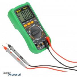 Tester Multimetro Digitale Diagnosi Voltaggio Amperaggio BEST 9801A