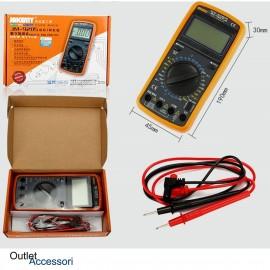 Tester Multimetro Digitale Professionale Diagnosi Voltaggio Amperaggio JM-9205A Jakemi