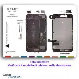 Pad Magnetico Tappeto Posizionamento Viti Vite Scheda Madre Componenti Apple Iphone 7 PLUS Screw Mat Wylie