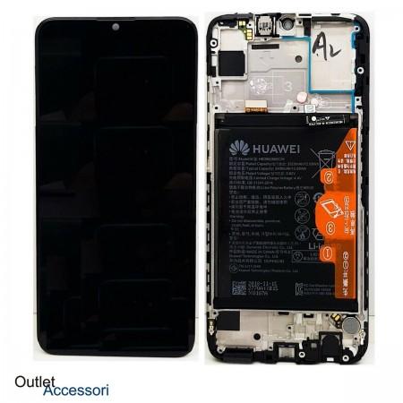 Display Schermo Originale Huawei P Smart 2019 Batteria POT LX1 Nero 02352JEY