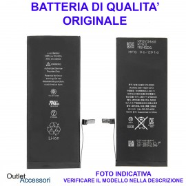 Batteria Iphone 6S PLUS Pila Qualità Originale Apple A1634, A1687, A1699 Ricambio