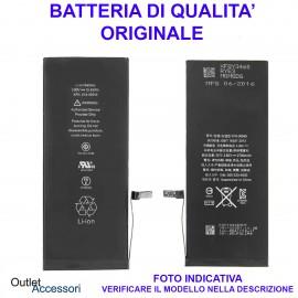 Batteria Pila Apple Iphone 7 Ricambio QUALITA' ORIGINALE OEM