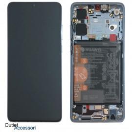 Display Schermo LCD ORIGINALE Huawei P30 LITE NERO Batteria Touch MAR-LX1M LX2J 02352RPW
