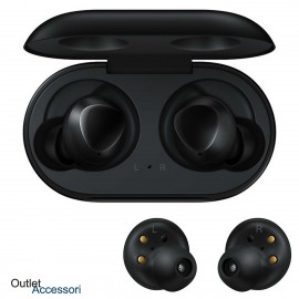 Cuffie Auricolari Samsung Galaxy BUDS ORIGINALI SM-R170 Bluetooth Wireless wifi NERE