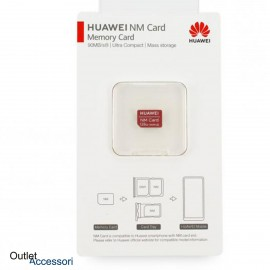 Memoria Memory Card Huawei NANO NM Flash Scheda 128GB Originale