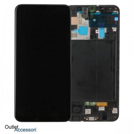 Display Schermo Samsung A50 A505 A505F Originale LCD Touch GH82-19204A