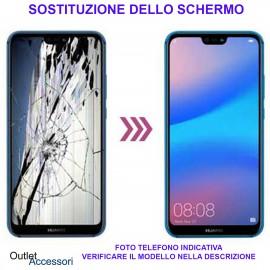 Riparazione Sostituzione Schermo Huawei MATE 20 LITE Cambio Display Rotto Vetro LCD Touch Ricambio Originale