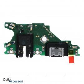 Flat Flex di Carica Ricarica Originale Huawei MATE 20 LITE Connettore USB Microfono Dock
