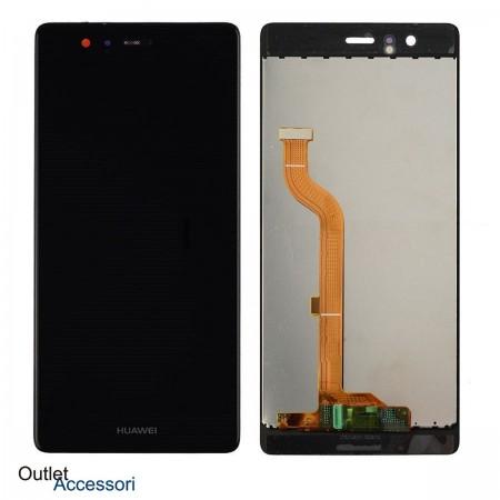Display Schermo LCD Huawei P9 NERO Ricambio Touch Vetro