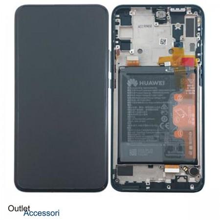 Display Schermo LCD ORIGINALE Huawei P SMART Z VERDE GREEN Batteria Flat 02352RXT