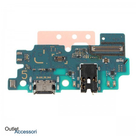 Flat Flex Ricarica Carica ORIGINALE Samsung A50 A505 A505F Connettore Usb-C Microfono