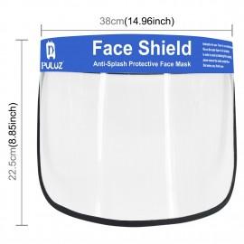 Visiera Visore Protettivo Viso Faccia Anti saliva Tosse Starnuto in Plastica Lavabile Maschera