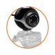 Webcam WEB CAM con Microfono per PC Computer Portatile Skype USB