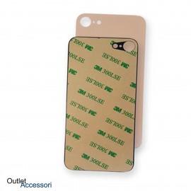 Scocca Copribatteria Vetro Posteriore Apple Iphone 8 Gold Oro