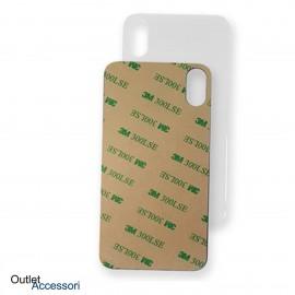 Vetro Posteriore per Apple Iphone X 10 BIANCO Scocca Copribatteria