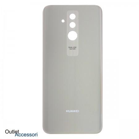 Copribatteria Scocca Vetro Posteriore Huawei MATE 20 LITE GOLD ORO Back Cover