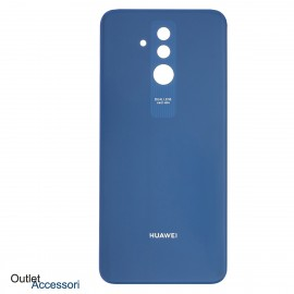 Copribatteria Scocca Vetro Posteriore Huawei MATE 20 LITE BLU Back Cover
