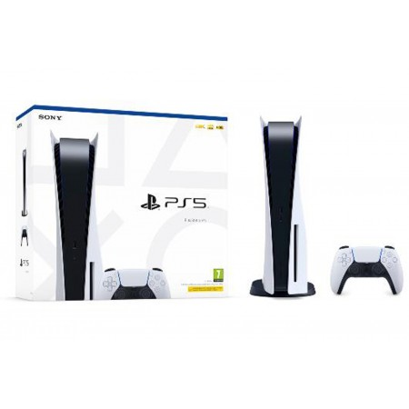 Console Sony PS5 Playstation 5 con Lettore Blu Ray 825gb