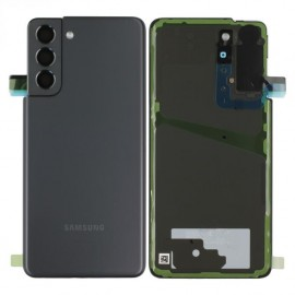 Scocca Copribatteria Vetro ORIGINALE Samsung Galaxy S21 GREY